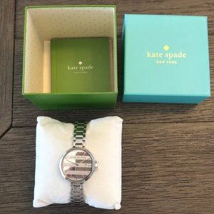 NWT Kate Spade Find the Silver Lining Watch